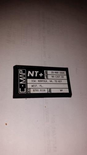 C_Map NT+,Used,C Card, NA-C307.08, ICW:Norfolk,VA. to Key west,FL