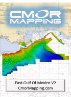 CMOR EAST GULF OFMEXICO CHART,SIMRAD