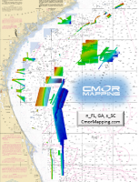 CMOR Chart NE.FL.,GA.,SC-Raymarine