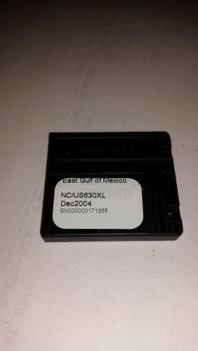 Navionics NC/US630XL Used ,FP card,east gulf of mexico