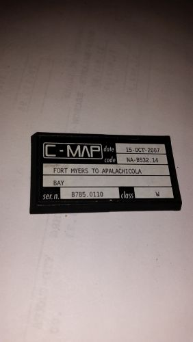 C-Map C Card,NA-B532.14,Fort myers To Apalachicola bay,Used