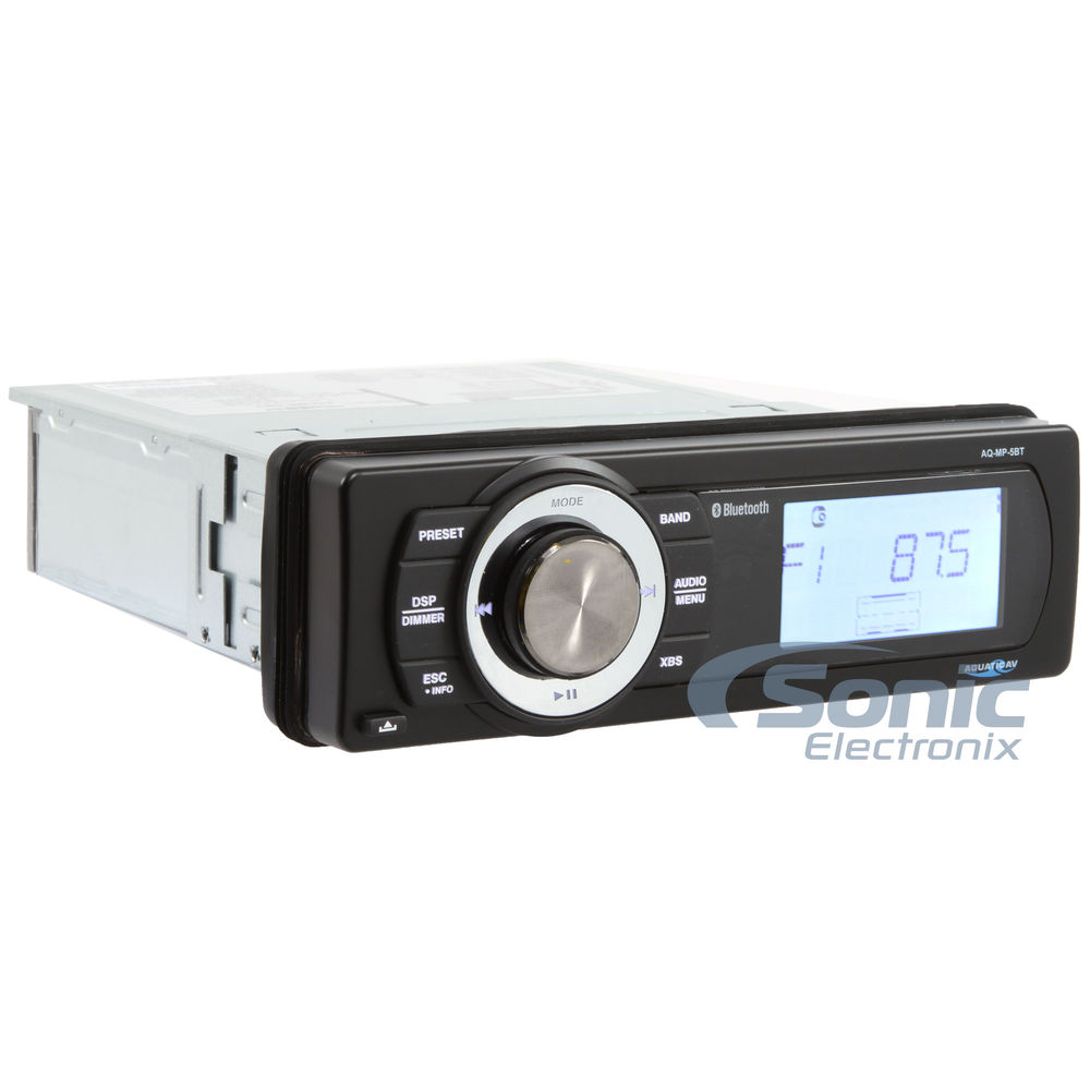 Bluetooth Waterproof Marine Stereo AQ-MP-5BT - Dean Marine Electronics
